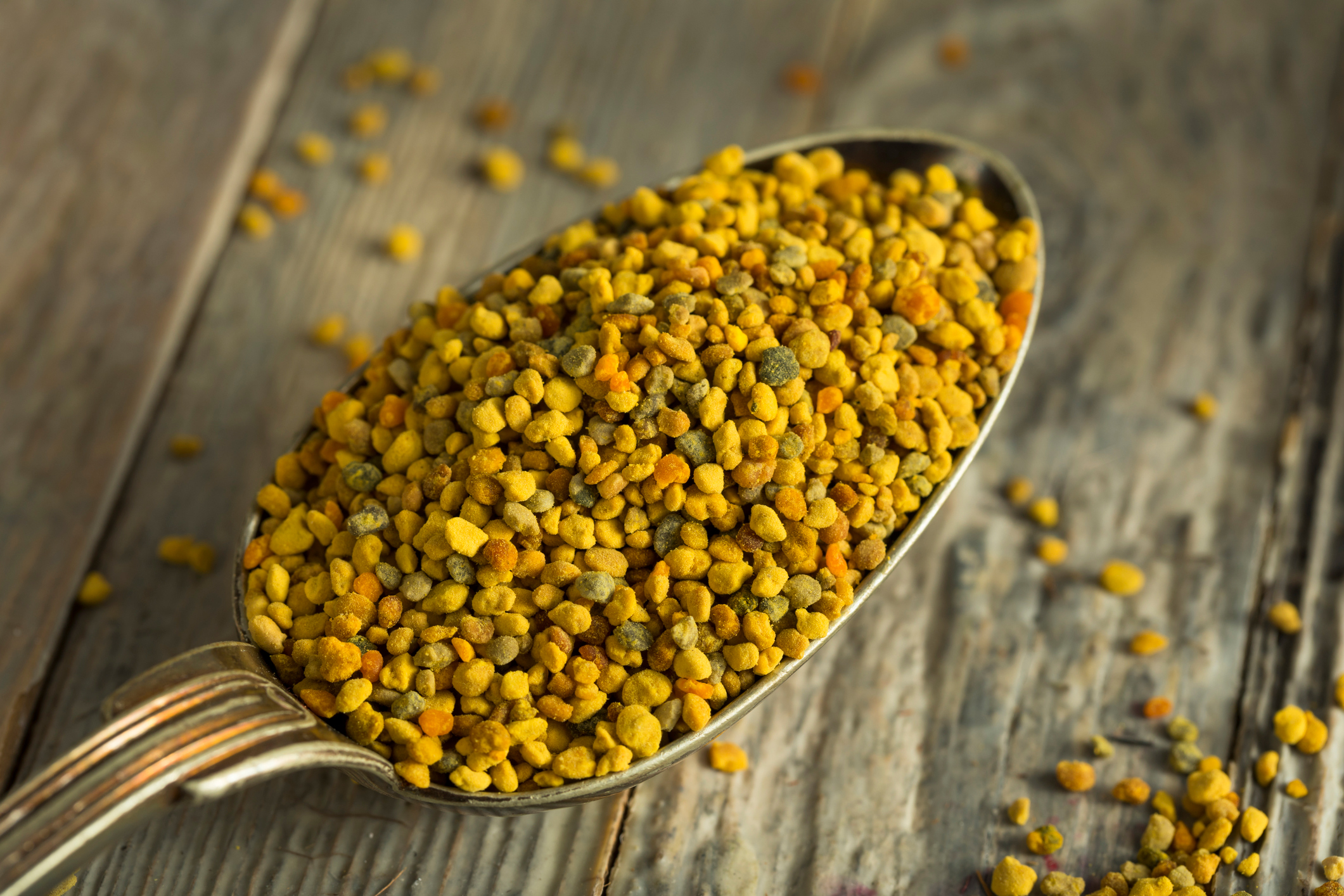Pollen de fleurs sauvages bio